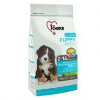 Alimento Seco Para Perro 1St Choice Cachorro Razas Medianas y grandes 2.72 kg.