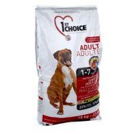 Alimento Seco Para Perro 1St Choice Adulto Skin Coat Lamb 15 kg.