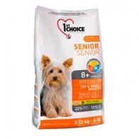 Alimento Seco Para Perro 1St Choice Senior Toy Small Breed 2.72 kg.