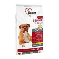 Alimento Seco Para Perro 1St Choice Senior Skin Coat Lamb 12 kg.
