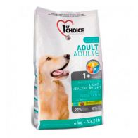 Alimento Seco Para Perro 1St Choice Adulto Light 6 kg.