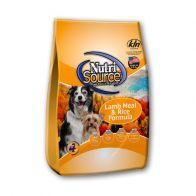 Alimento Seco Para Perro Nutrisource Cordero y Arroz 13.6 kg.