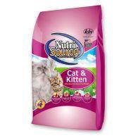 Alimento Seco Para gato Nutrisource Cat Kitten Pollo y Arroz 8 kg. 0002