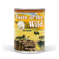 Lata Alimento Húmedo Para Perro Taste Of The Wild High Praire 374 g. 0723