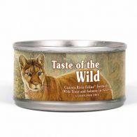Lata Alimento Húmedo Para gato Taste Of The Wild Canyon River 156 g. 1119