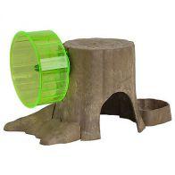 Kaytee Refugio y Juego Arbol Para Hamster. 4313