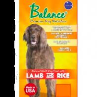 Alimento Seco Para Perro Balance Adulto Cordero & Arroz 5 kg.
