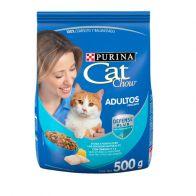 Alimento Seco Para gato Cat Chow Adulto Pescado 500 g. 1144
