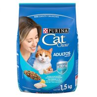Alimento Seco Para gato Cat Chow Adulto Pescado 1.5 kg. 1151
