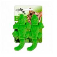 Juguete Afp green Rush gecko Para gato. 0965