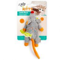 Juguete Afp Raton Jumbo gris Para gatito. 7230
