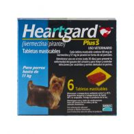 Heartgard Plus S 68 Azul Hasta 11 kg. 0000