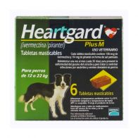Heartgard Plus M 136 Verde 12 kg-22 kg. 0000