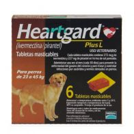Heartgard Plus L 272 Café 23 kg- 45 kg. 0000